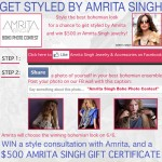 Win $500 from Amrita Singh!!!