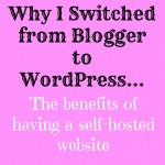 Why I Switched From Blogger To WordPress…